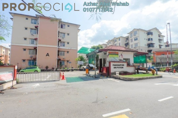 For Sale Apartment at Sri Puteri Apartment, Ukay Leasehold Semi Furnished 3R/2B 230k