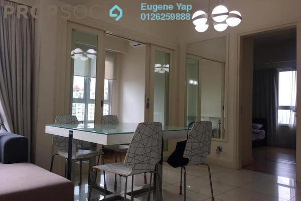 For Rent Condominium at Tiffani Kiara, Mont Kiara Freehold Fully Furnished 2R/1B 3.5k