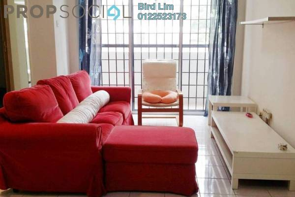 For Rent Condominium at Green Acre Park, Bandar Sungai Long Freehold Fully Furnished 3R/2B 1.1k