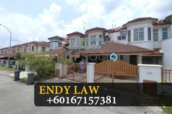 For Sale Terrace at Taman Bukit Indah, Old Klang Road Freehold Semi Furnished 3R/2B 480k