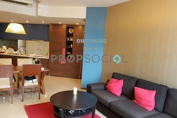 For Rent Serviced Residence at VERVE Suites, Mont Kiara Freehold Fully Furnished 1R/2B 3.3k