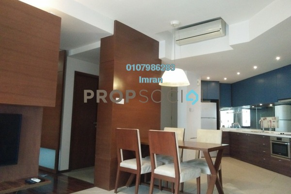 For Rent Serviced Residence at VERVE Suites, Mont Kiara Freehold Fully Furnished 2R/2B 3.1k