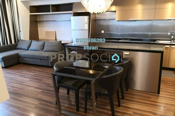 For Rent Serviced Residence at VERVE Suites, Mont Kiara Freehold Fully Furnished 2R/2B 4k