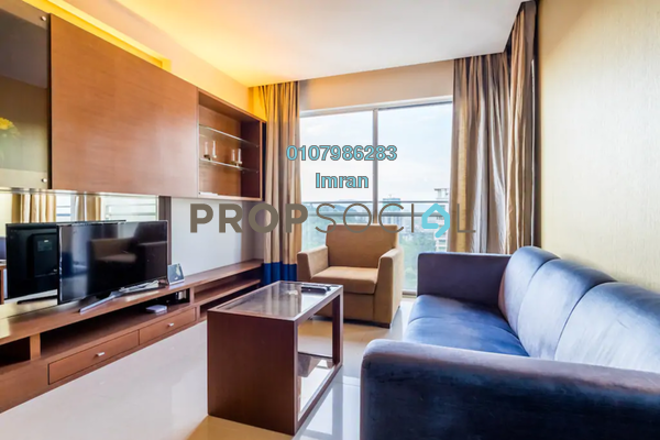 For Sale Serviced Residence at VERVE Suites, Mont Kiara Freehold Fully Furnished 3R/2B 1.28m