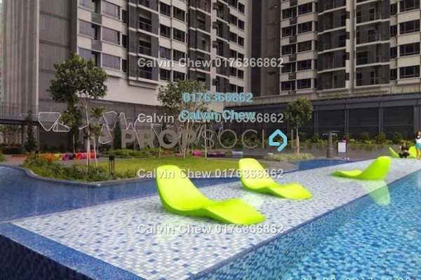 For Sale Condominium at The Petalz, Old Klang Road Freehold Unfurnished 3R/2B 594k