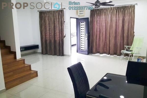 For Sale Townhouse at Crestin Park, Kajang Freehold Semi Furnished 4R/3B 430k