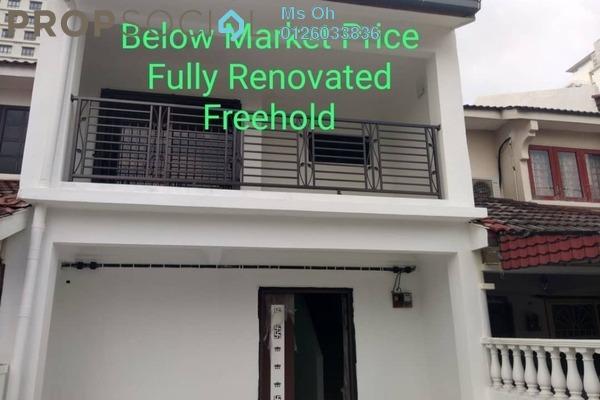 For Sale Terrace at Taman Wawasan, Pusat Bandar Puchong Freehold Semi Furnished 4R/3B 650k