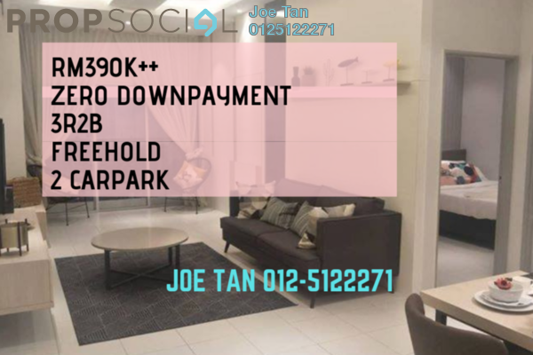 For Sale Condominium at Residensi Platinum Teratai, Kuala Lumpur Freehold Semi Furnished 3R/2B 390k