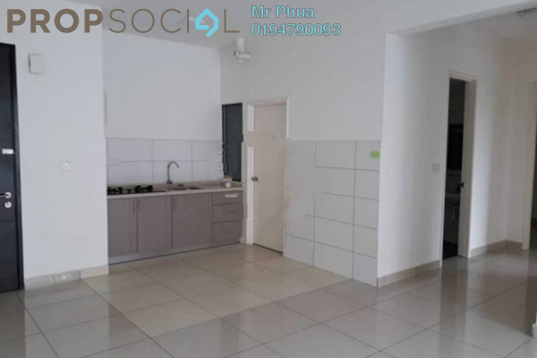 For Rent Condominium at Wellesley Residences, Butterworth Freehold Semi Furnished 2R/2B 1k