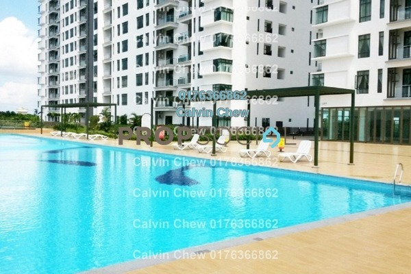 For Sale Serviced Residence at D'Inspire Residence, Skudai Freehold Unfurnished 3R/2B 361k