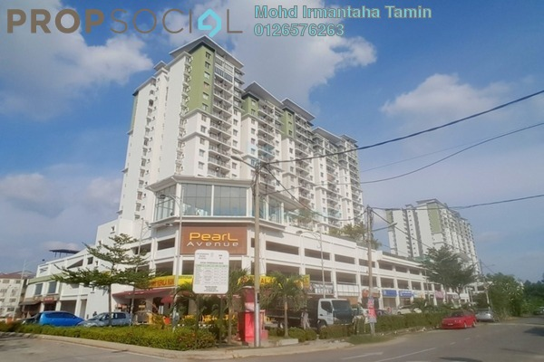 For Sale Condominium at Pearl Avenue, Kajang Freehold Semi Furnished 3R/2B 580k