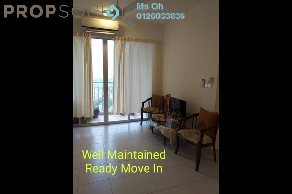 For Rent Condominium at Residensi Puchongmas, Puchong Freehold Semi Furnished 3R/2B 1.2k