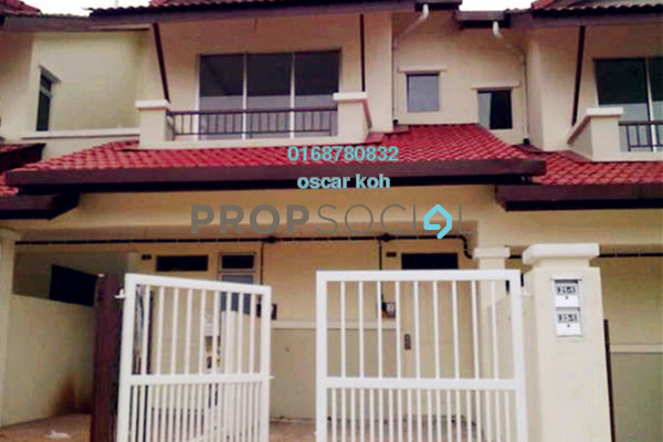 For Sale Townhouse at Bayu Parkville, Balakong Freehold Semi Furnished 3R/2B 365k