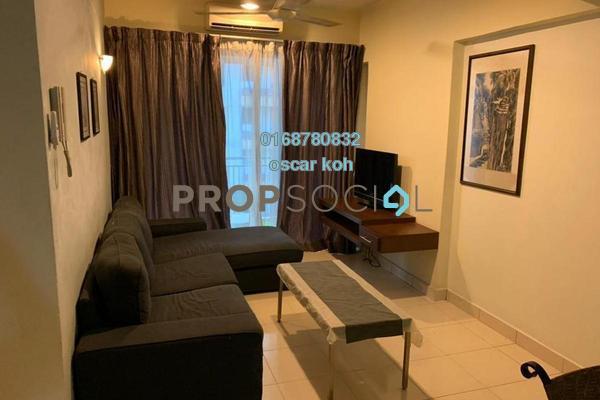 For Rent Condominium at Taman Cheras Permai, Batu 9 Cheras Freehold Semi Furnished 2R/1B 1.8k