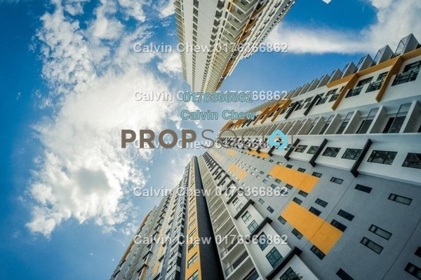 For Sale Condominium at Parkhill Residence, Bukit Jalil Freehold Unfurnished 4R/2B 583k
