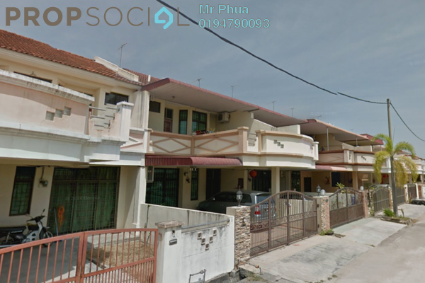 For Sale Terrace at Taman Janggus Jaya, Seberang Jaya Freehold Unfurnished 4R/3B 540k