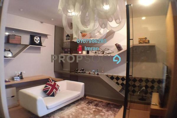 For Sale Serviced Residence at VERVE Suites, Mont Kiara Freehold Fully Furnished 0R/1B 610k