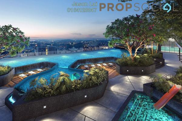 For Sale Condominium at The Arcuz, Kelana Jaya Leasehold Semi Furnished 2R/1B 610k