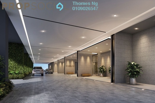 For Sale Condominium at The Hermington, Kuchai Lama Freehold Unfurnished 3R/2B 432k