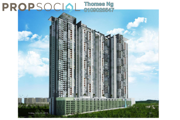 For Sale Condominium at The Havre, Bukit Jalil Leasehold Unfurnished 3R/2B 520k