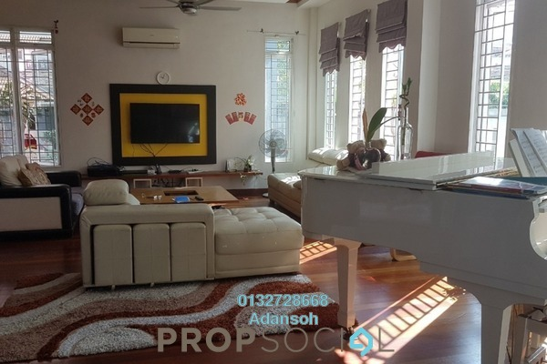 For Sale Bungalow at Fortune Park, Kepong Freehold Semi Furnished 6R/6B 3.5m
