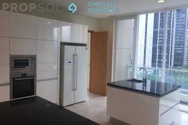 For Sale Condominium at The Oval, KLCC Freehold Semi Furnished 3R/4B 3.67m
