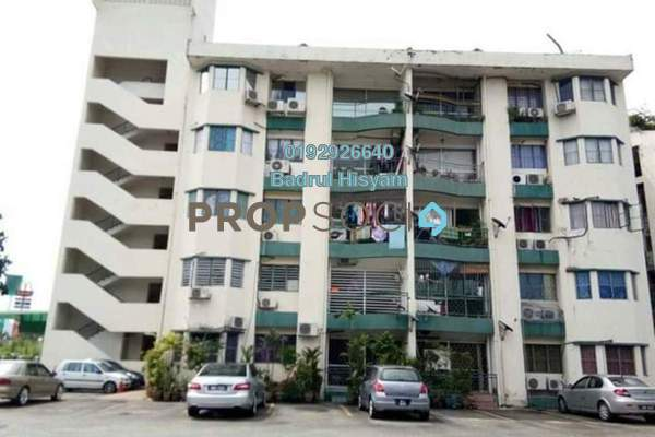 For Sale Condominium at City Garden Orchid Court, Ampang Freehold Semi Furnished 3R/2B 400k