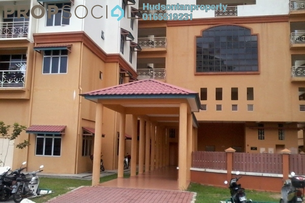 For Sale Condominium at Taman LTAT, Bukit Jalil Leasehold Semi Furnished 3R/2B 280k