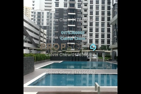 For Sale Serviced Residence at D'Ambience, Johor Bahru Freehold Unfurnished 3R/2B 316k