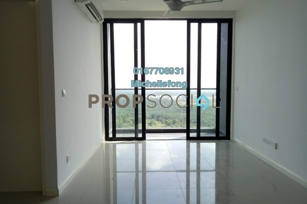 For Rent Condominium at D'Pristine, Medini Freehold Semi Furnished 2R/2B 1.6k