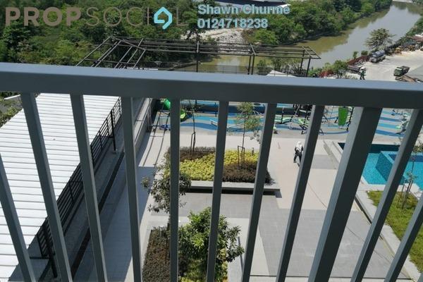 For Sale Condominium at The Edge Residen, Subang Jaya Freehold Semi Furnished 3R/2B 660k