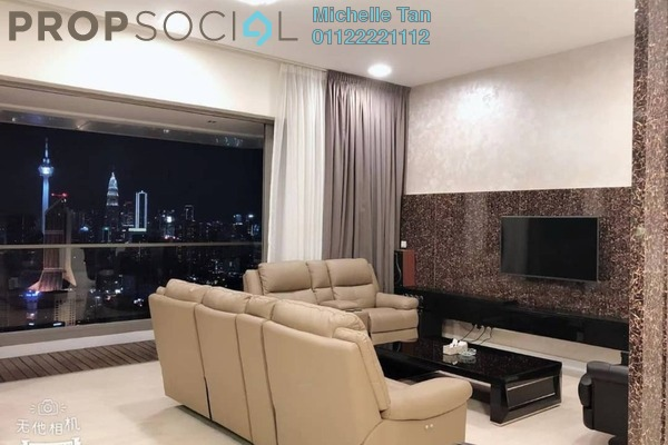 For Rent Serviced Residence at The Sentral Residences, KL Sentral Freehold Fully Furnished 4R/5B 13.5k