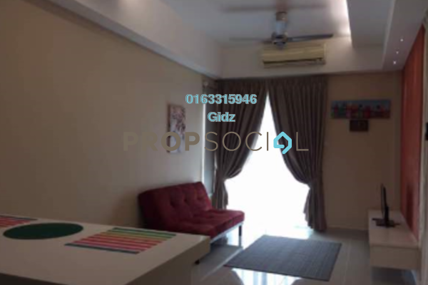 For Rent Condominium at Gaya Bangsar, Bangsar Freehold Fully Furnished 1R/1B 2.7k