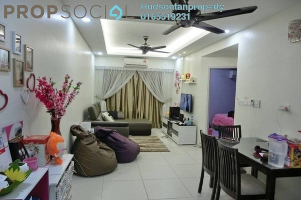 For Sale Condominium at Calisa Residences, Puchong Freehold Semi Furnished 3R/2B 285k