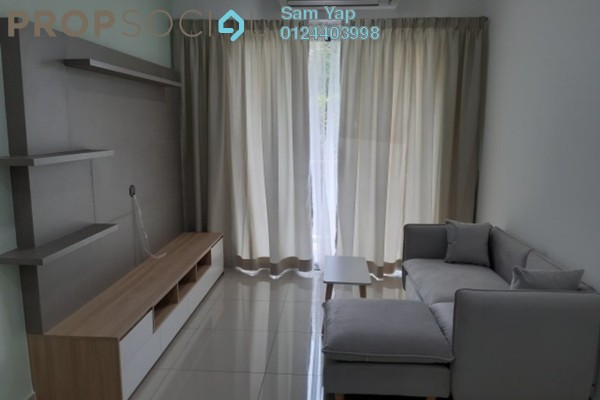 For Rent Condominium at Sutera Pines, Bandar Sungai Long Freehold Unfurnished 3R/2B 1.8k