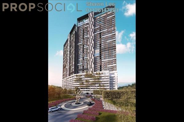 For Sale Condominium at Bennington Residences @ SkyArena, Setapak Freehold Semi Furnished 4R/2B 669k