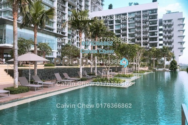 For Sale Serviced Residence at Iskandar Residences, Medini Freehold Unfurnished 2R/2B 473k