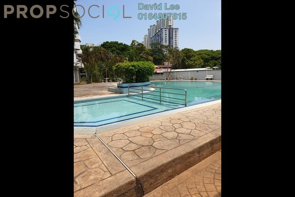 For Rent Condominium at University Heights, Sungai Dua Freehold Fully Furnished 3R/2B 1.6k
