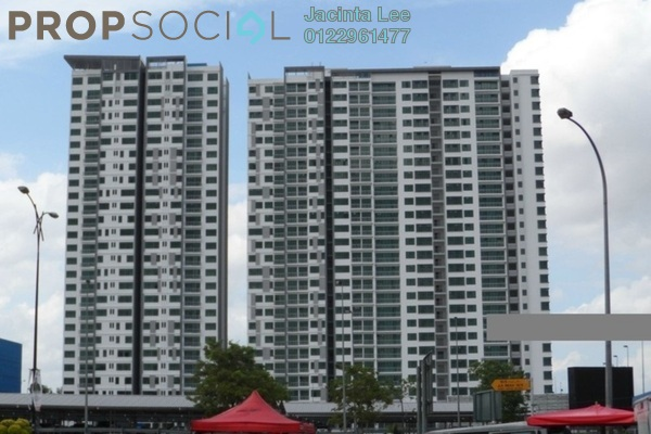 For Sale Serviced Residence at The Sky Executive Suites, Bukit Indah Freehold Semi Furnished 4R/4B 525k