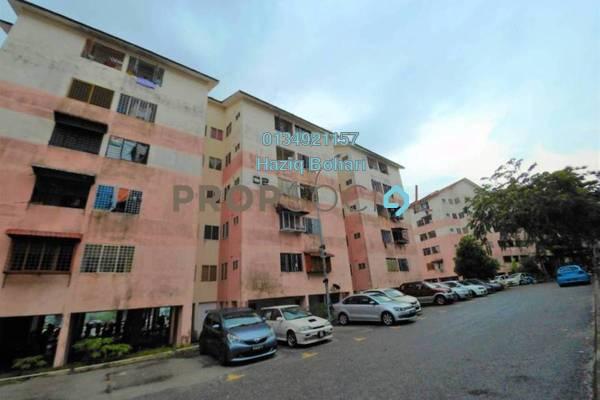 For Sale Apartment at Ketitir Apartment, Seri Kembangan Freehold Unfurnished 3R/1B 120k