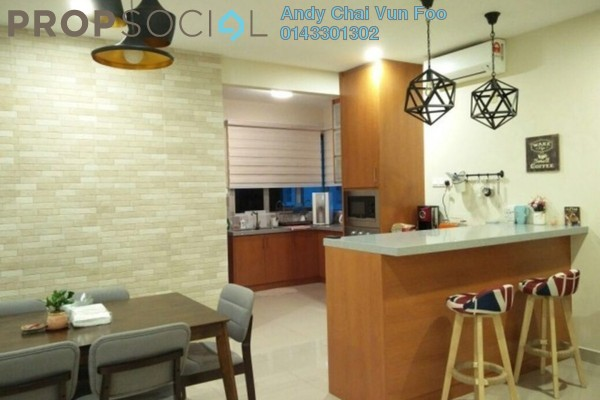 For Rent Serviced Residence at Kiara Residence 2, Bukit Jalil Freehold Fully Furnished 4R/3B 2.5k
