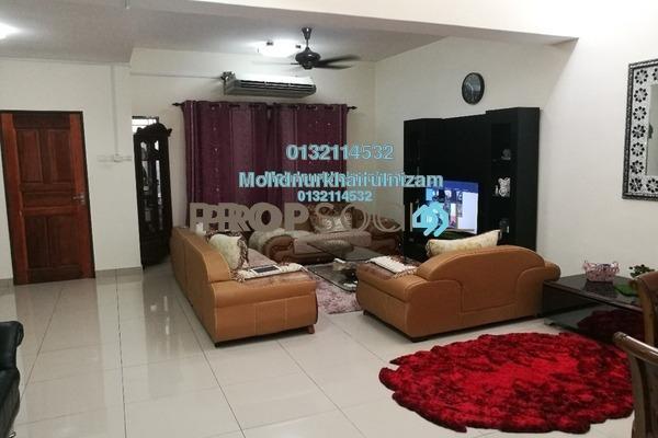 For Sale Terrace at Bandar Saujana Utama, Sungai Buloh Freehold Semi Furnished 4R/3B 550k