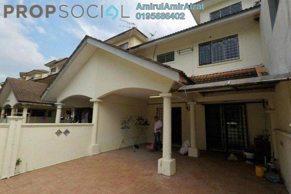 For Sale Terrace at Taman Desa Karunmas, Balakong Leasehold Semi Furnished 4R/3B 510k