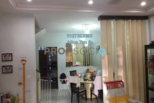 For Sale Terrace at Taman Desa Cemerlang, Ulu Tiram Freehold Semi Furnished 4R/3B 480k
