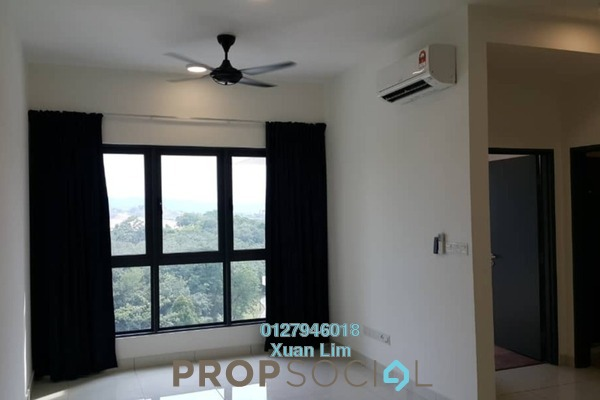 For Rent Condominium at The Link 2 Residences, Bukit Jalil Freehold Semi Furnished 2R/1B 1.5k