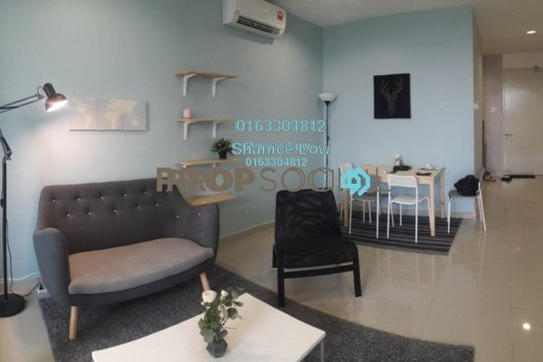 For Rent Condominium at 3Elements, Bandar Putra Permai Freehold Fully Furnished 1R/1B 1.2k