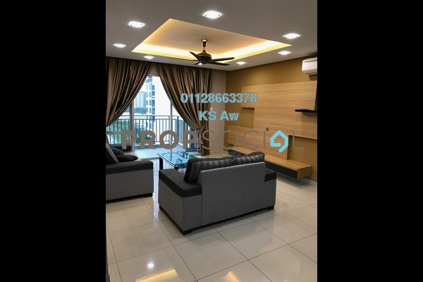 For Rent Condominium at D'Rich Executive Suites, Iskandar Puteri (Nusajaya) Freehold Fully Furnished 3R/3B 2k