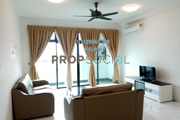 For Rent Condominium at Sky Loft, Bukit Indah Freehold Fully Furnished 2R/2B 2.5k