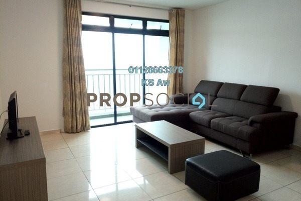For Rent Condominium at Sky Breeze, Bukit Indah Freehold Fully Furnished 3R/3B 3k