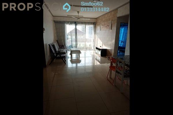 For Sale Condominium at Platinum Hill PV2, Setapak Freehold Semi Furnished 3R/2B 470k